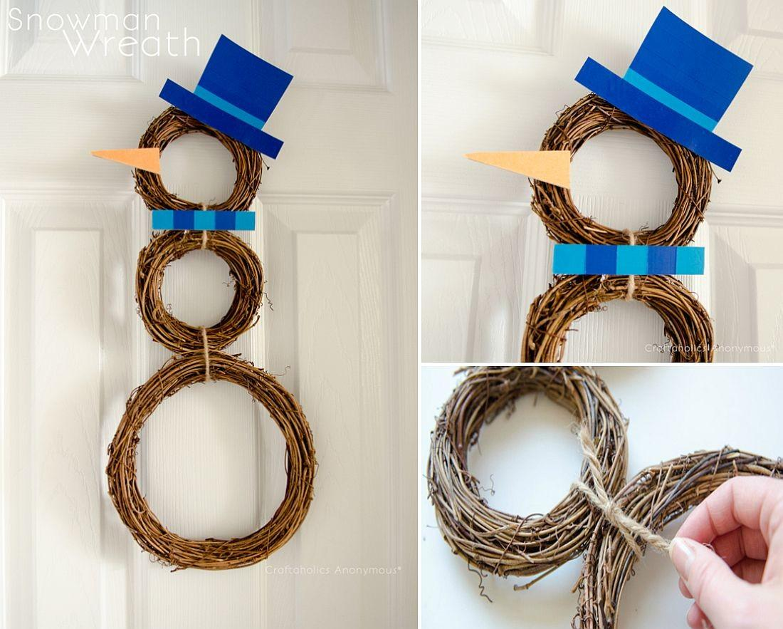 Festive Diy Holiday Season Wreaths Gear