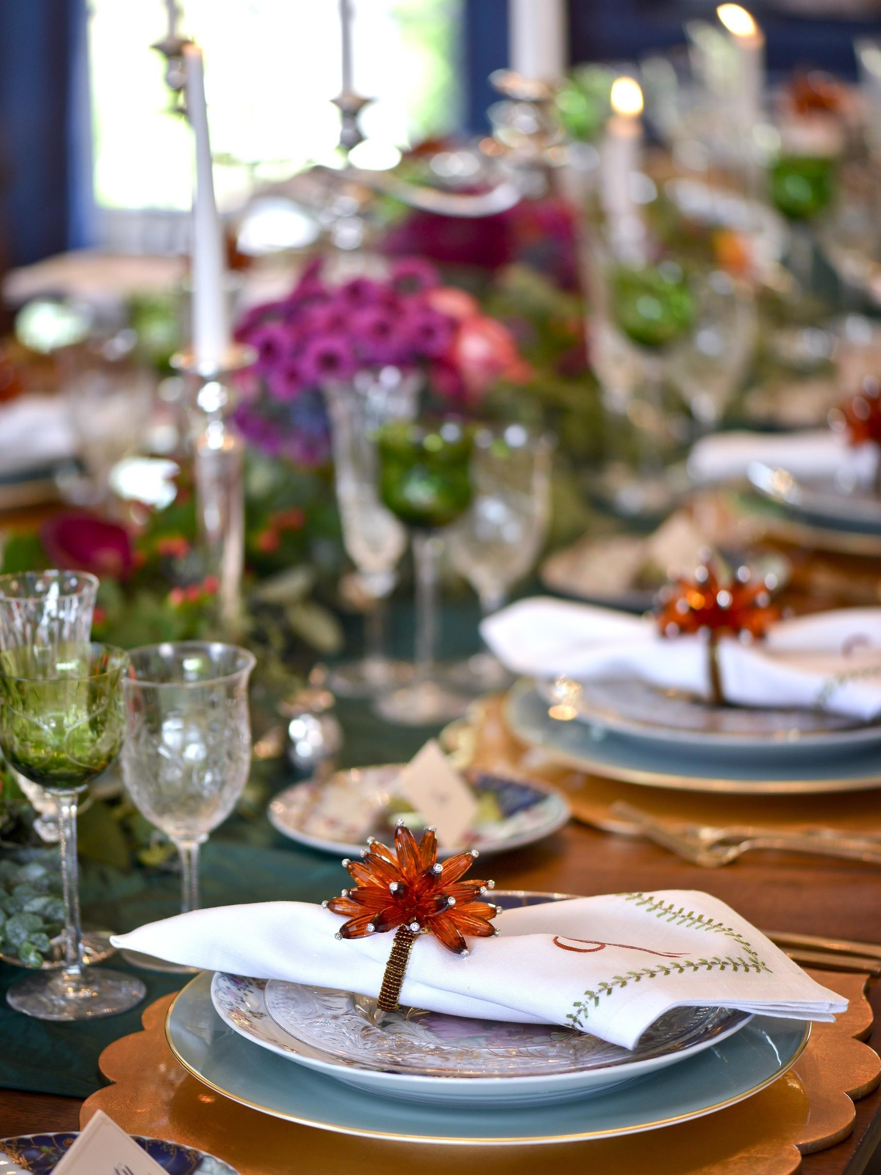 Festive Fall Tables Traditional Home
