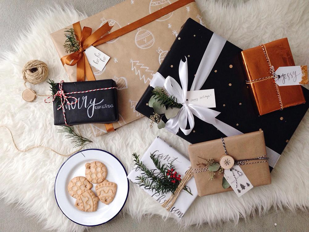 Festive Gift Wrapping Ideas Fun Family Crafts