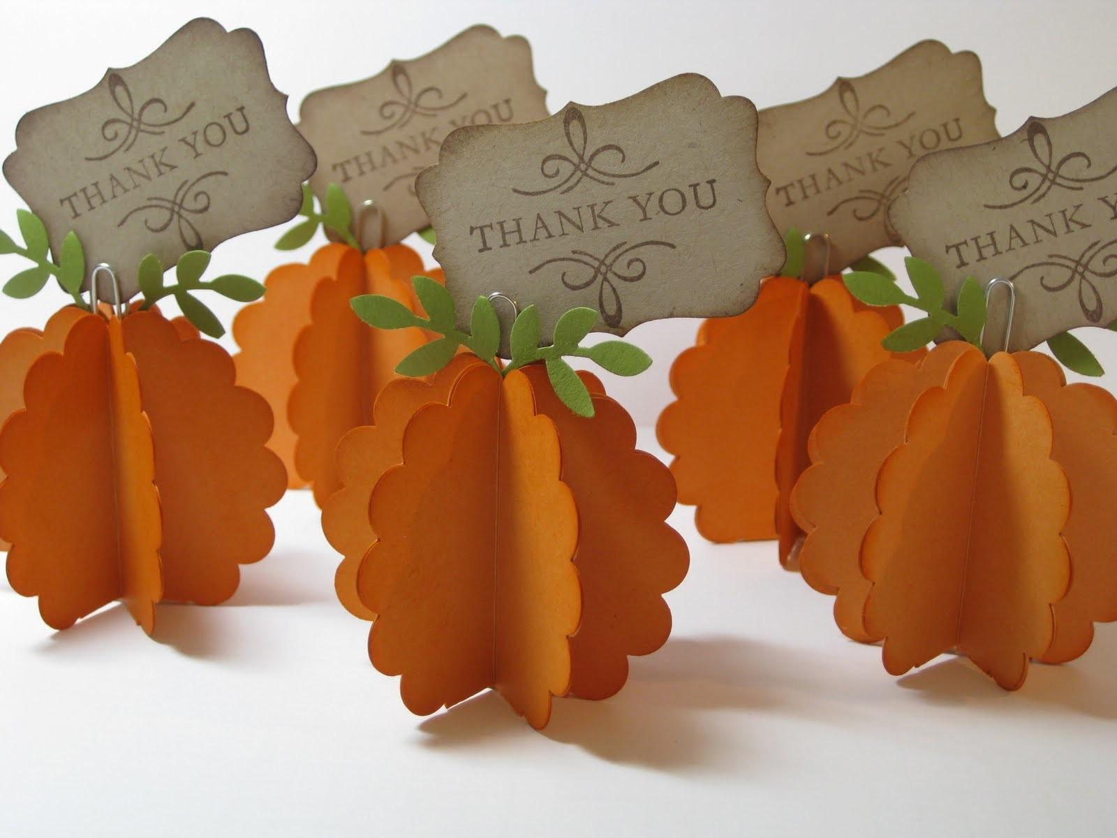 Festive Thanksgiving Place Cards List Lists