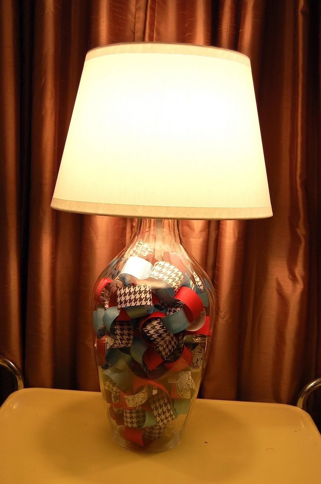 Fillable Glass Table Lamp Base Lamps Ideas