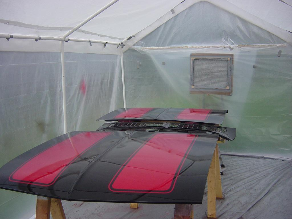 Finally Building Paint Booth Question