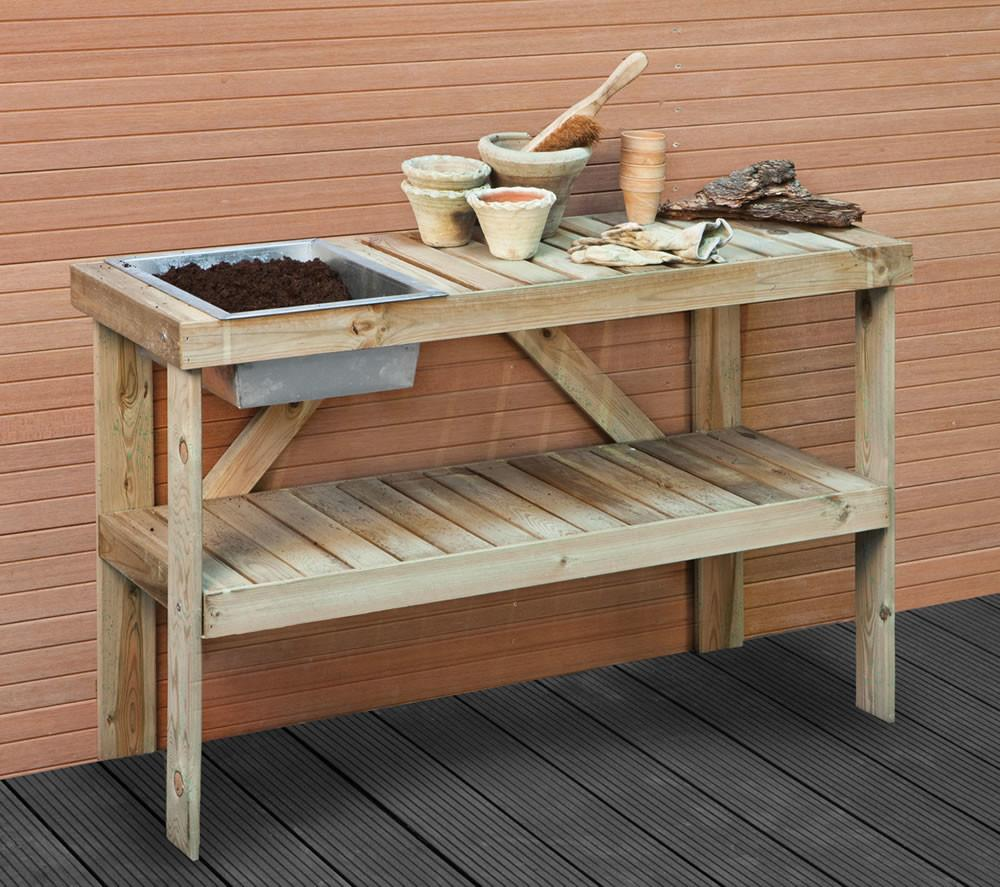Find Out Beneficial Outdoor Potting Bench