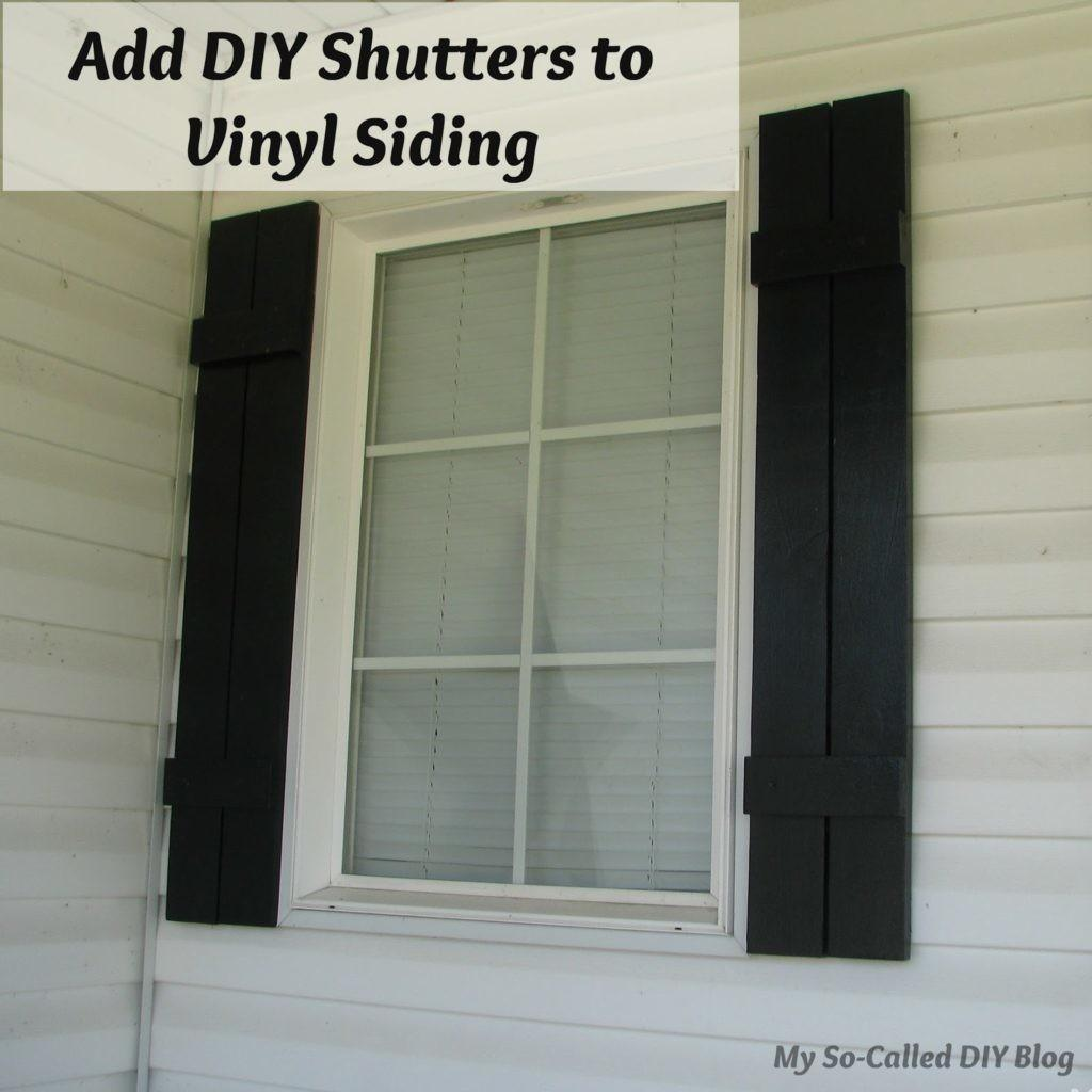 Find Save Ideas Diy Shutters Just Craft