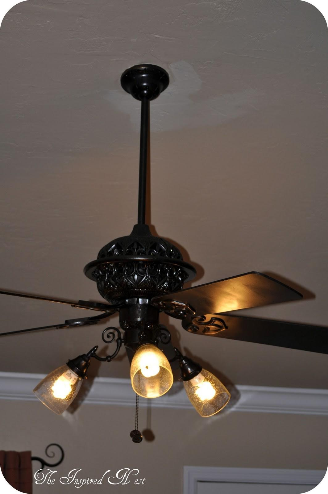 Finding Aloha Ceiling Fan Makeover Inspired