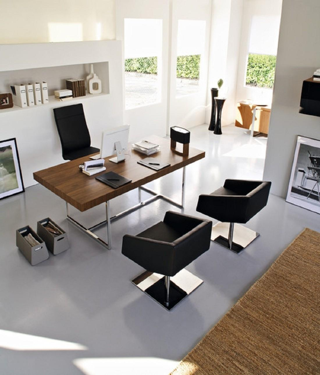 Fine Modern Home Office Design 407
