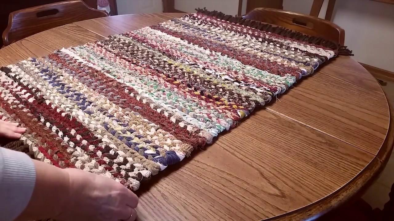 Finish Woven Rag Rug Crafts Diy Projects