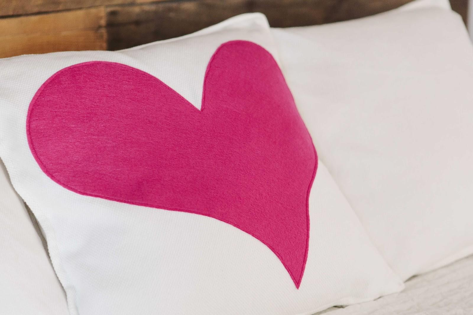 Finley Oliver Diy Heart Pillow Cover