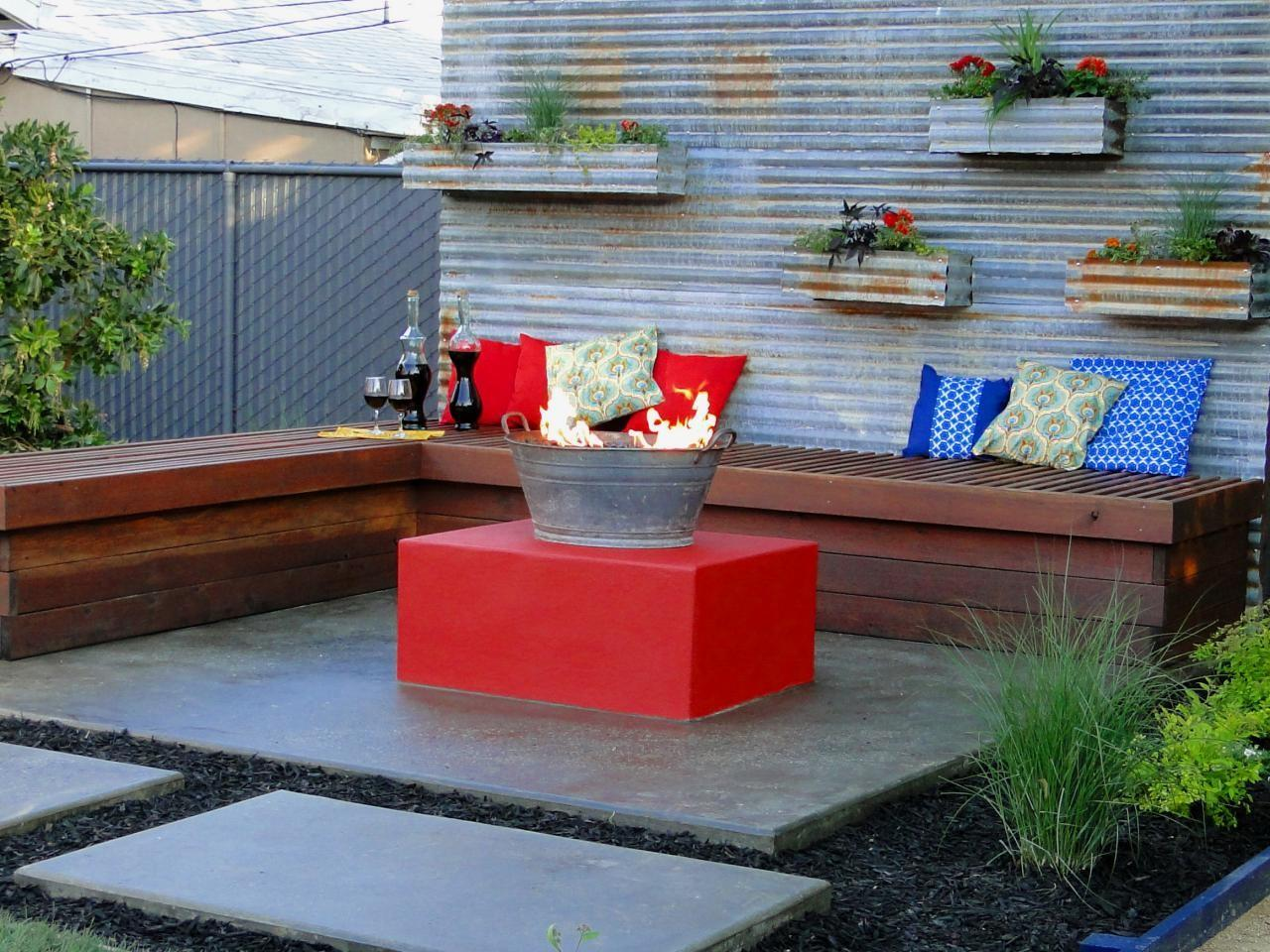 Fire Pit Outdoor Fireplace Ideas Diy Network Blog