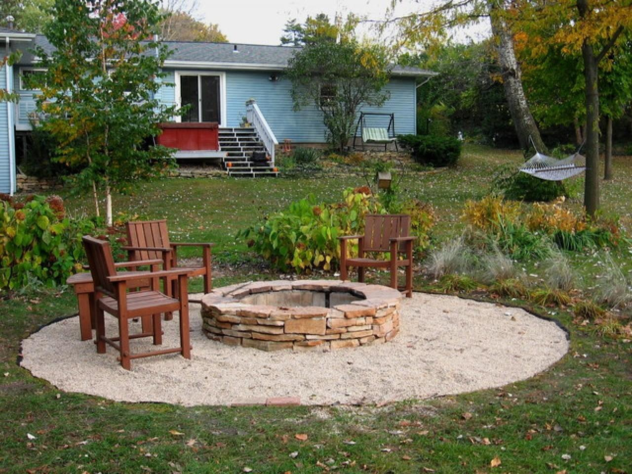 Fire Pit Patio Designs Diy Landscaping Ideas