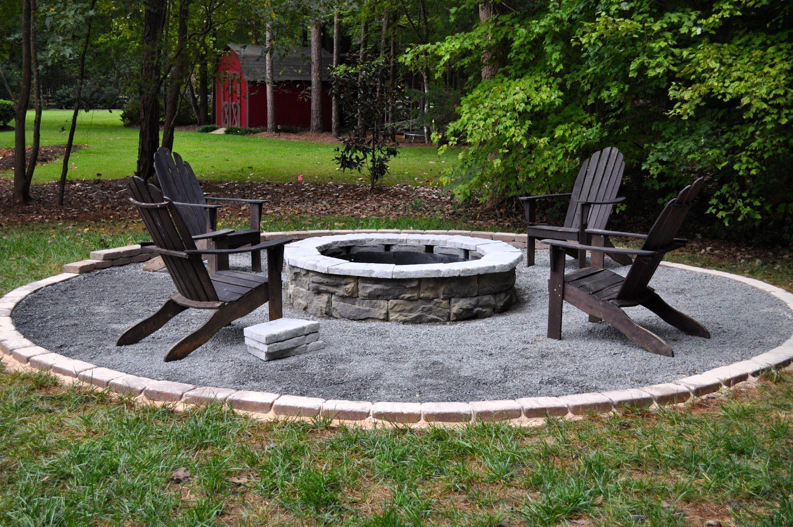 Fire Pit Plans Few Easy Steps Build Fireplace