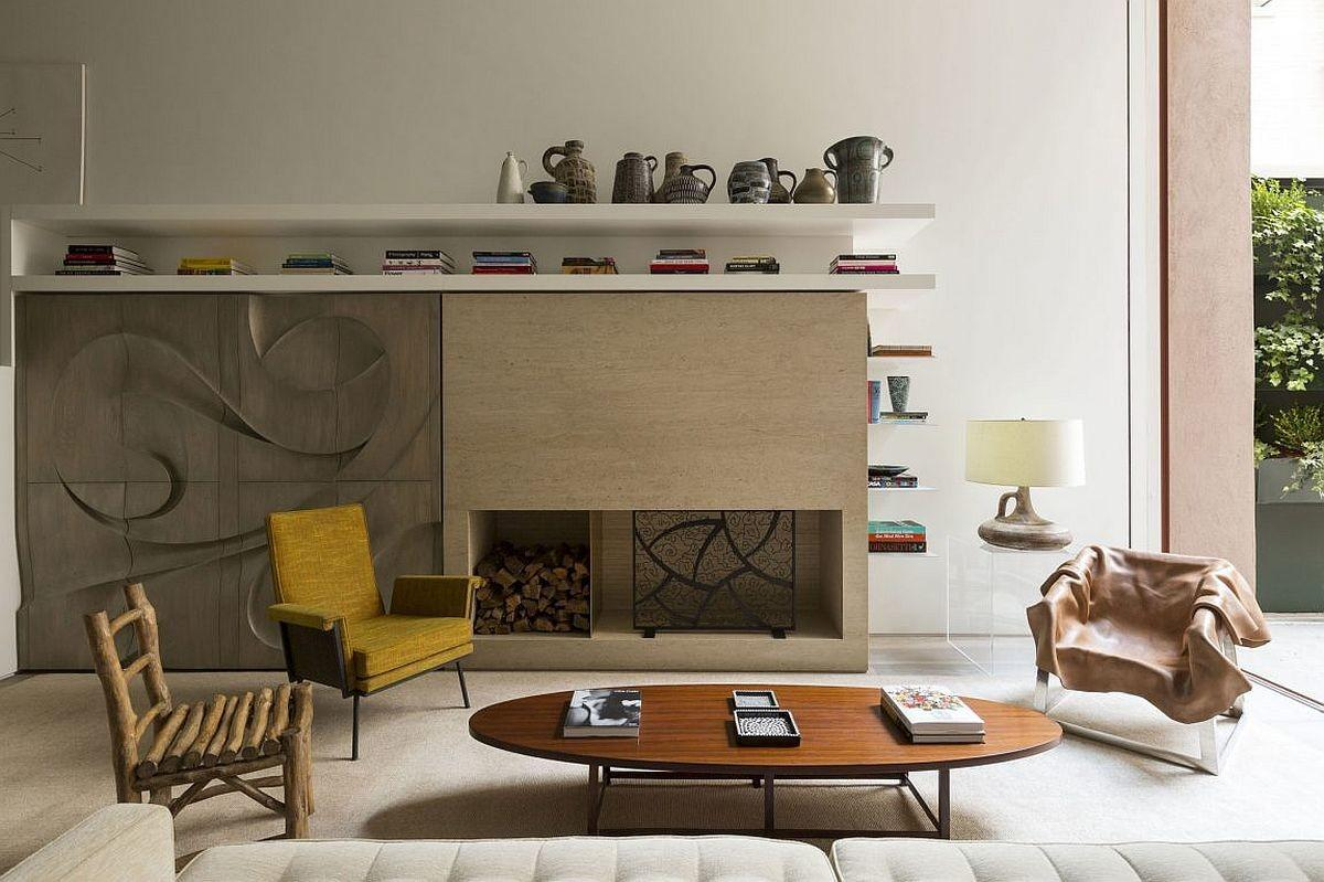 Fireplace Cabinets Sculptural Millwork Give