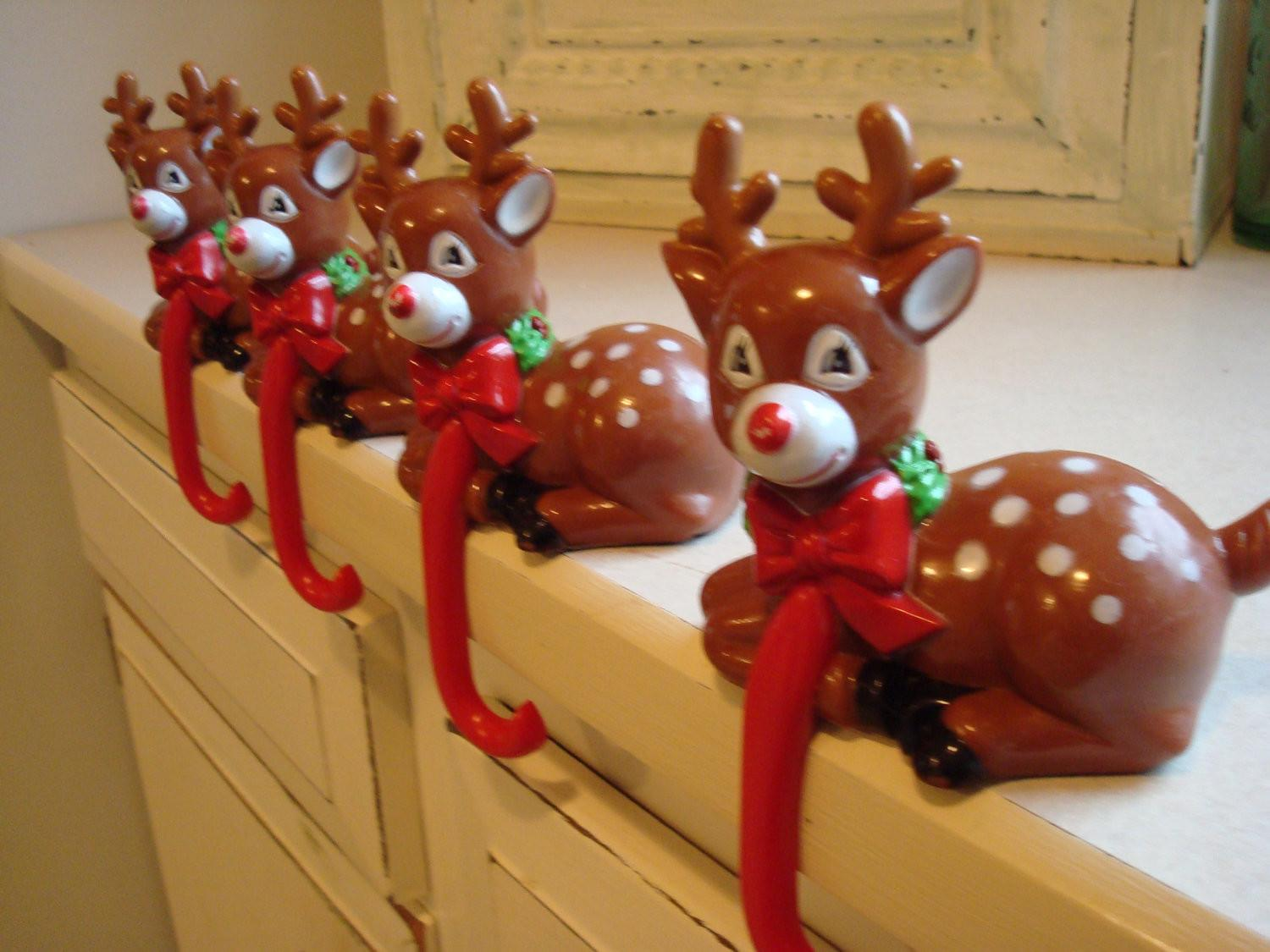 Fireplace Christmas Stocking Hangers Fireplaces