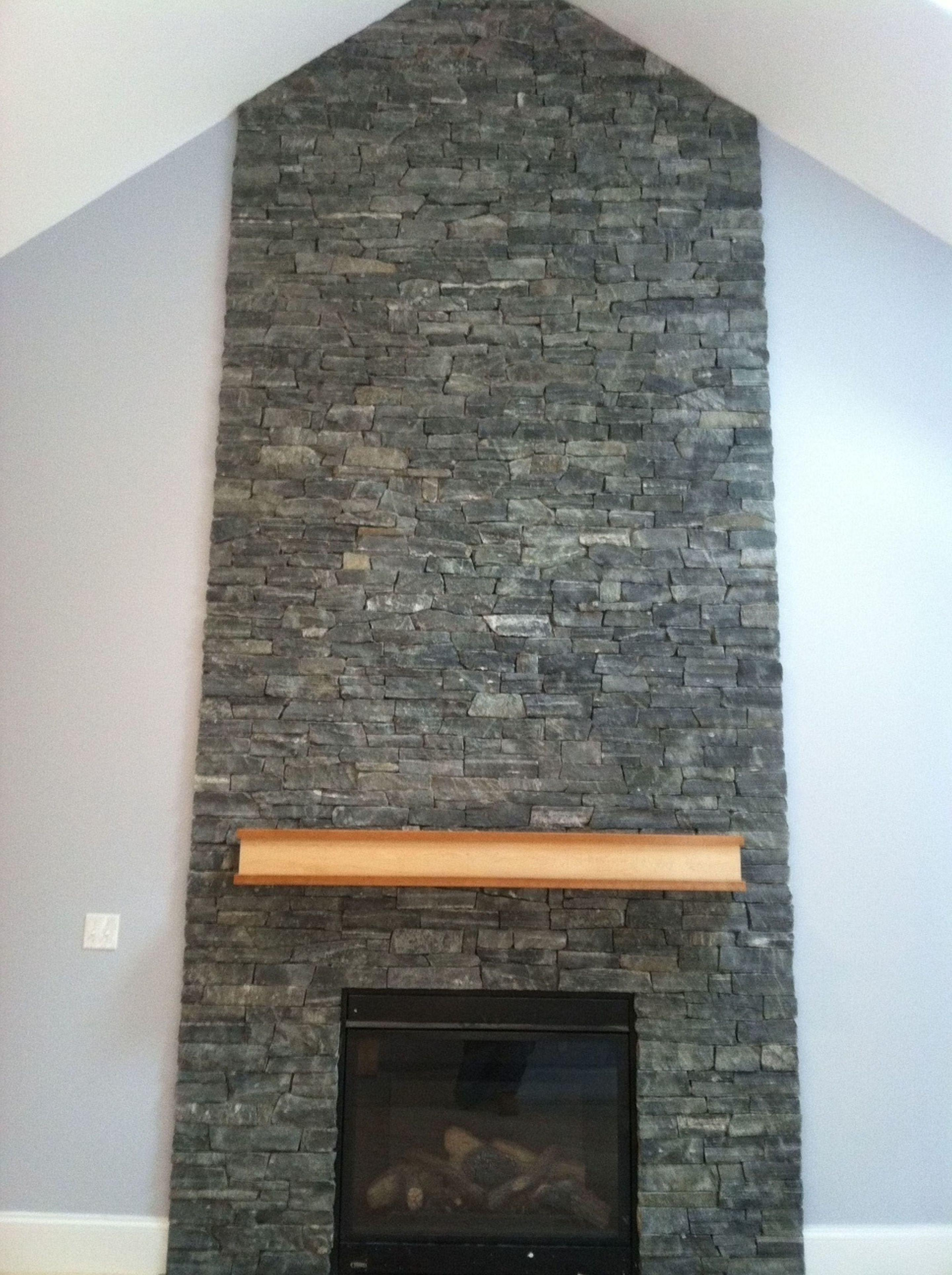 Fireplace Designs Brick Stone Accent Wall Excerpt
