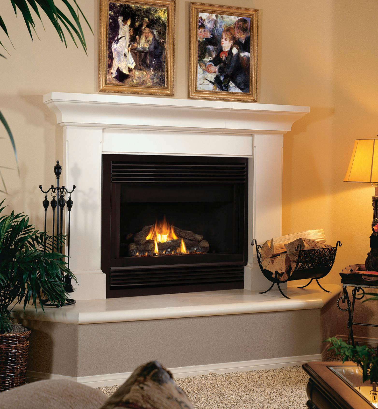 Fireplace Designs One Total Classic Wall