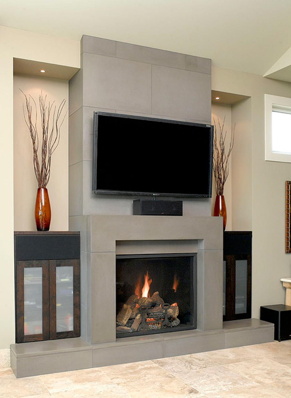 Fireplace Designs One Total Pics Contemporary Gas