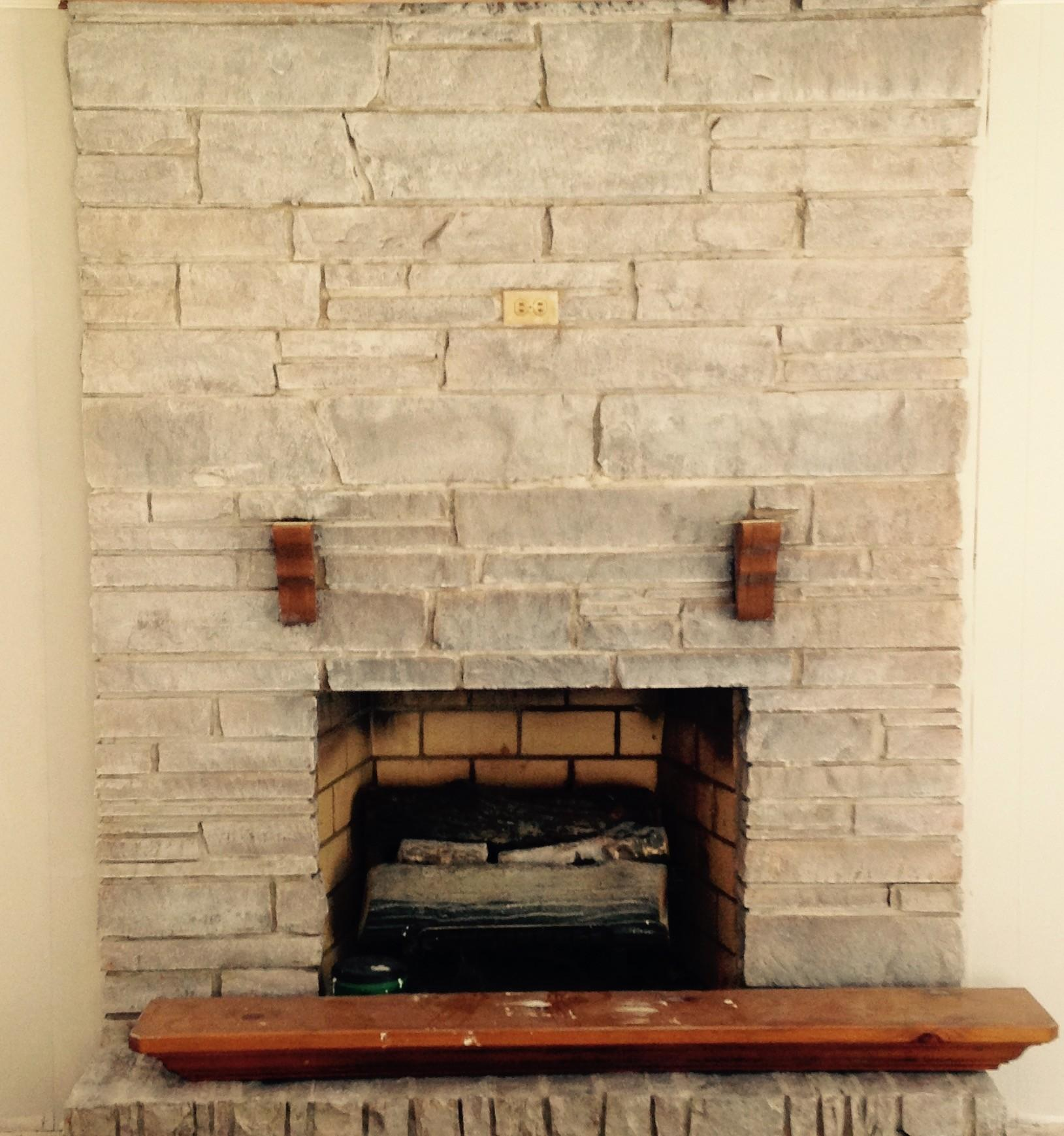 Fireplace Gets Some Reallifefixerupper