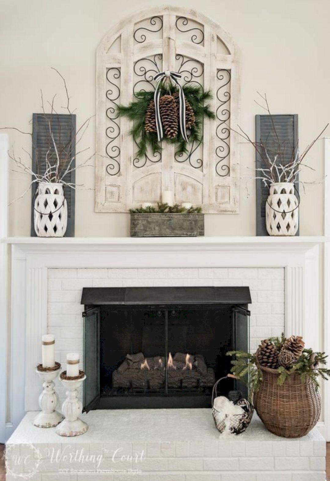 Fireplace Mantel Decorating Ideas Futurist Architecture