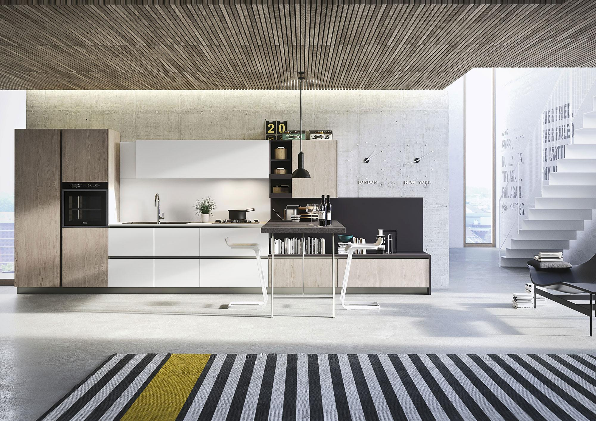 First Collection Everyone Casual Kitchens Snaidero