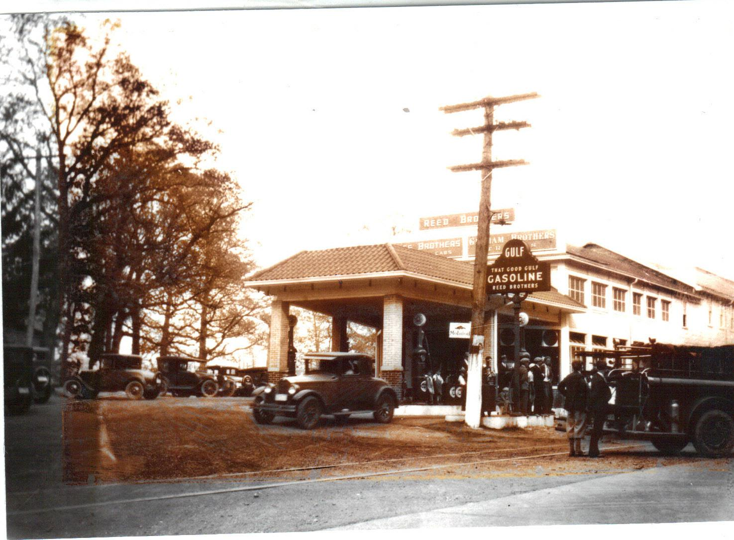 First Gulf Gas Dealer Reed Brothers Dodge History 1915