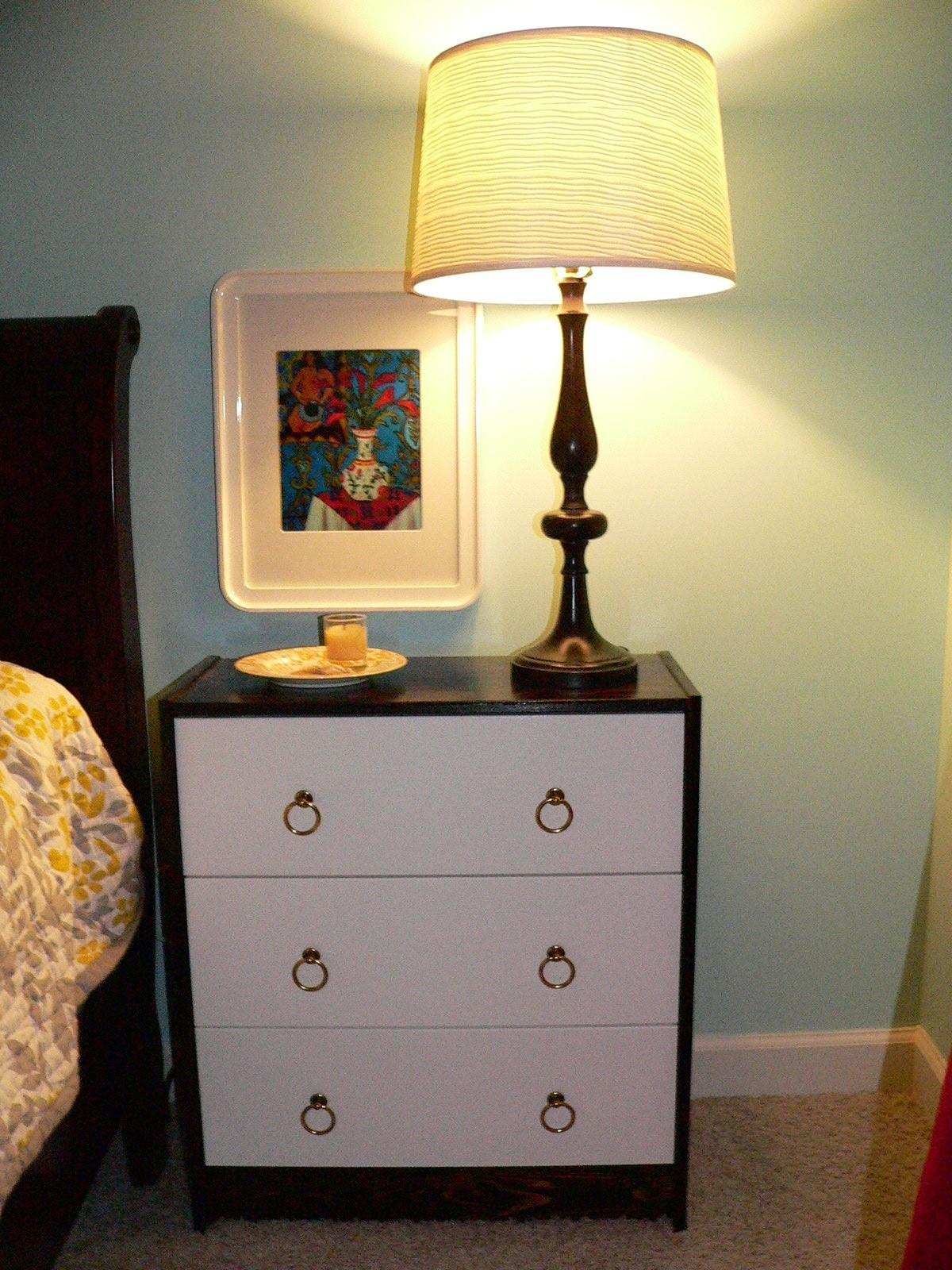 First Hack Rast Sidetable Makeover Swoonobsessed