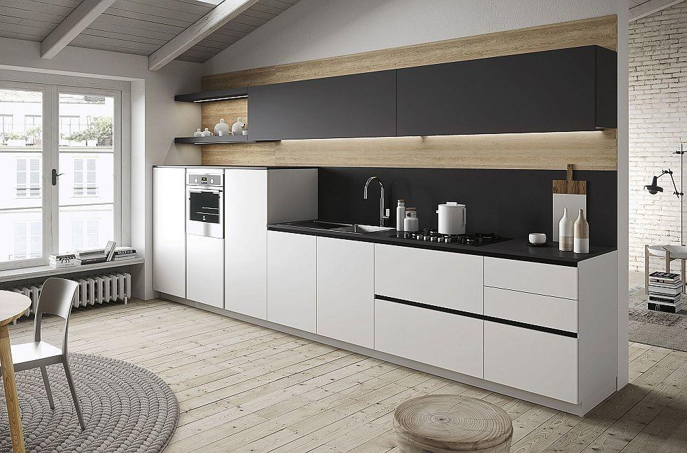 First Kitchen Modular Freedom Wrapped Casual Minimalism