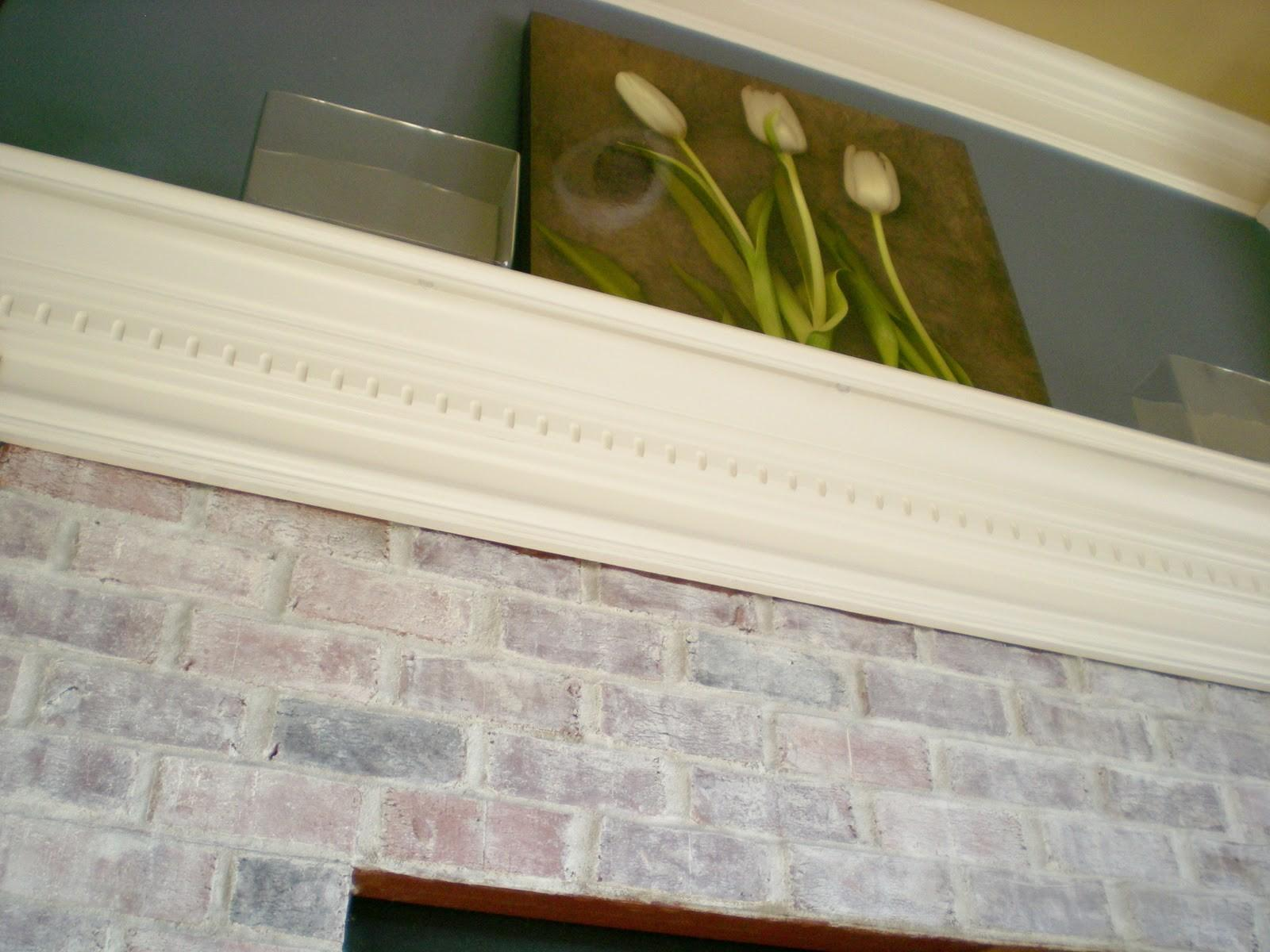 First Project 2011 Whitewash Brick Love Cleverly