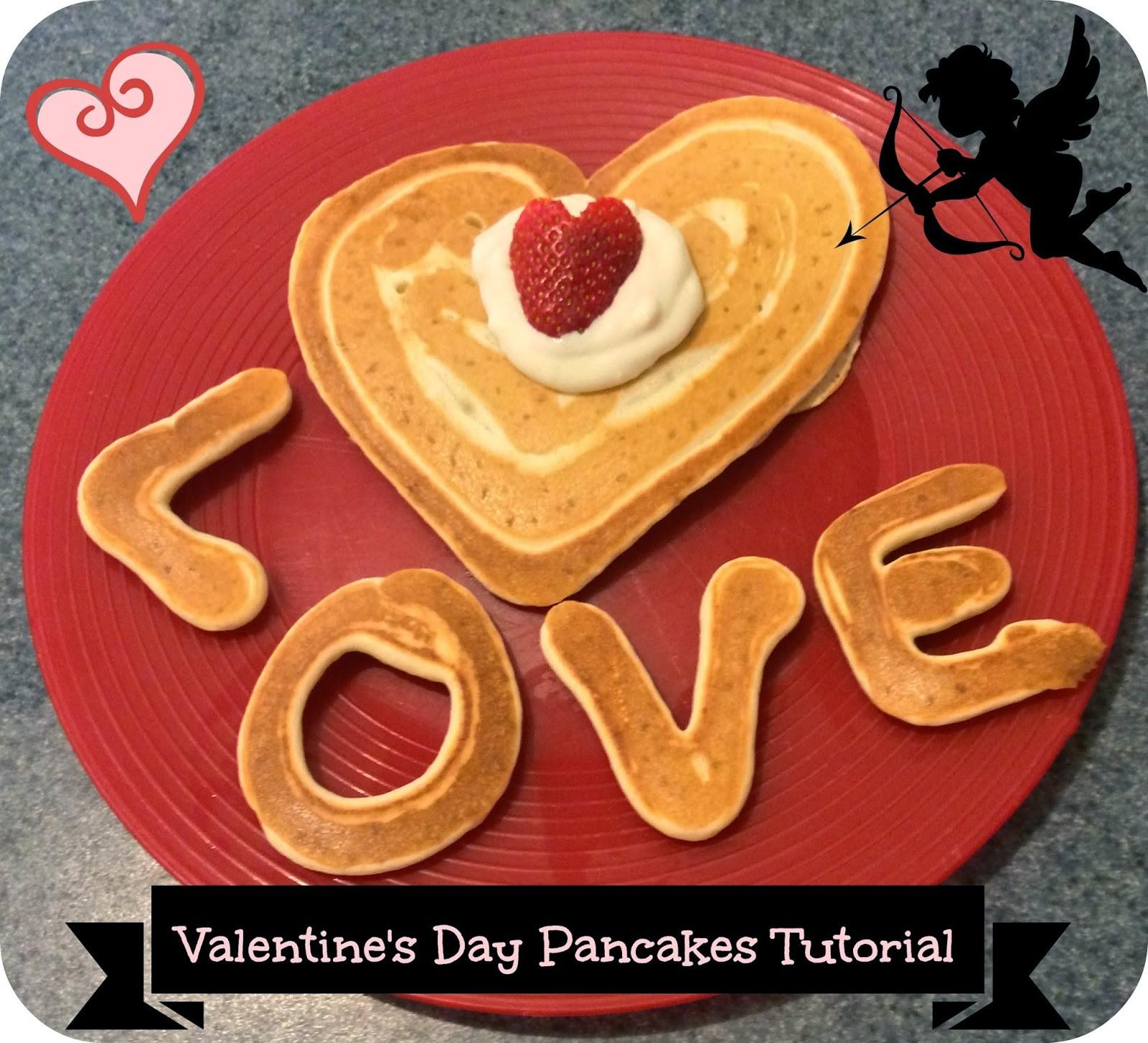 First Time Mom Losing Valentine Day Pancakes