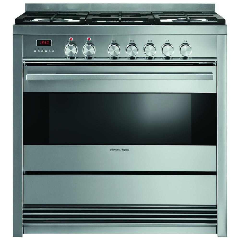 Fisher Paykel Or90sdbgfx3 90cm Single Oven Dual Fuel