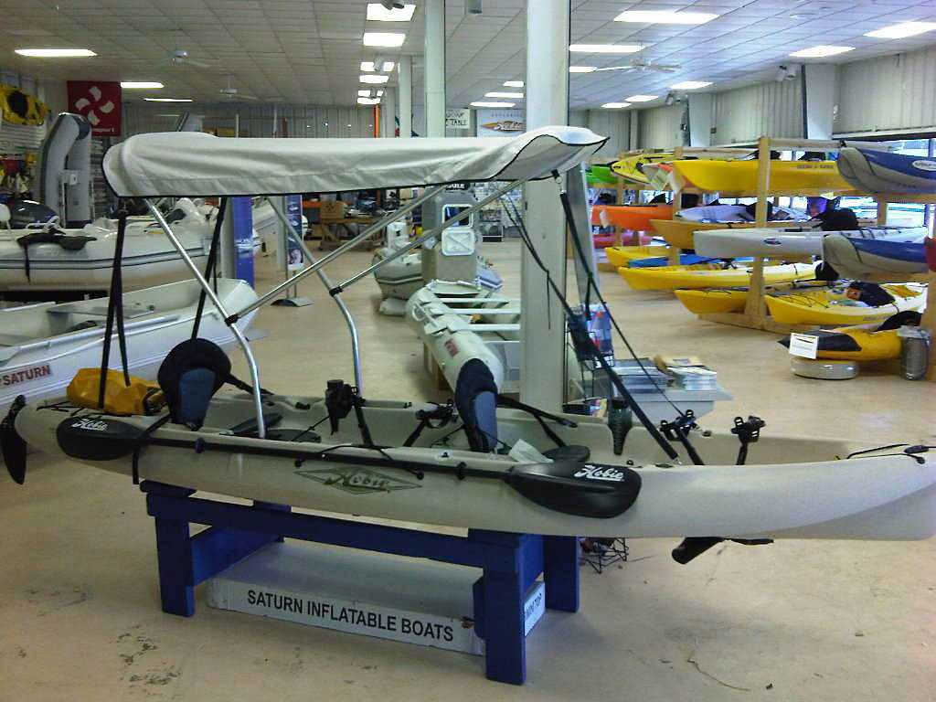 Fishing Boat Diy Kayak Bimini Top