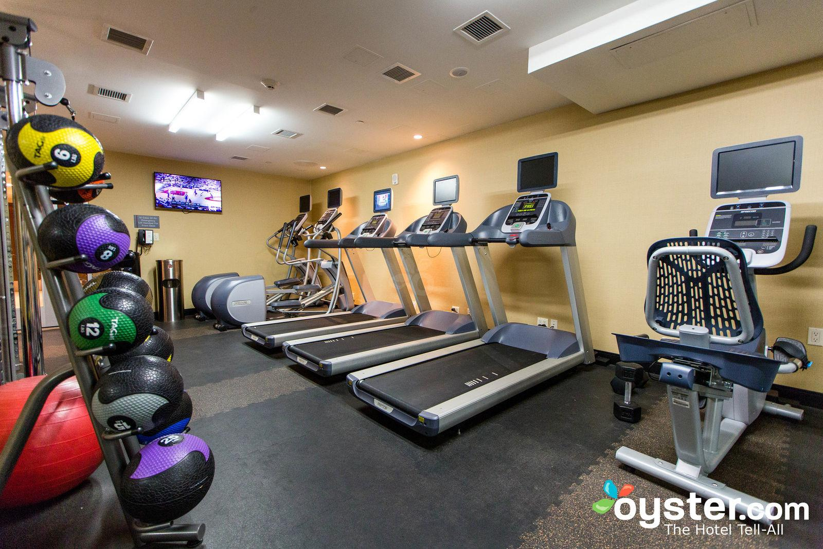 Fitness Center Cambria Hotel Suites New York