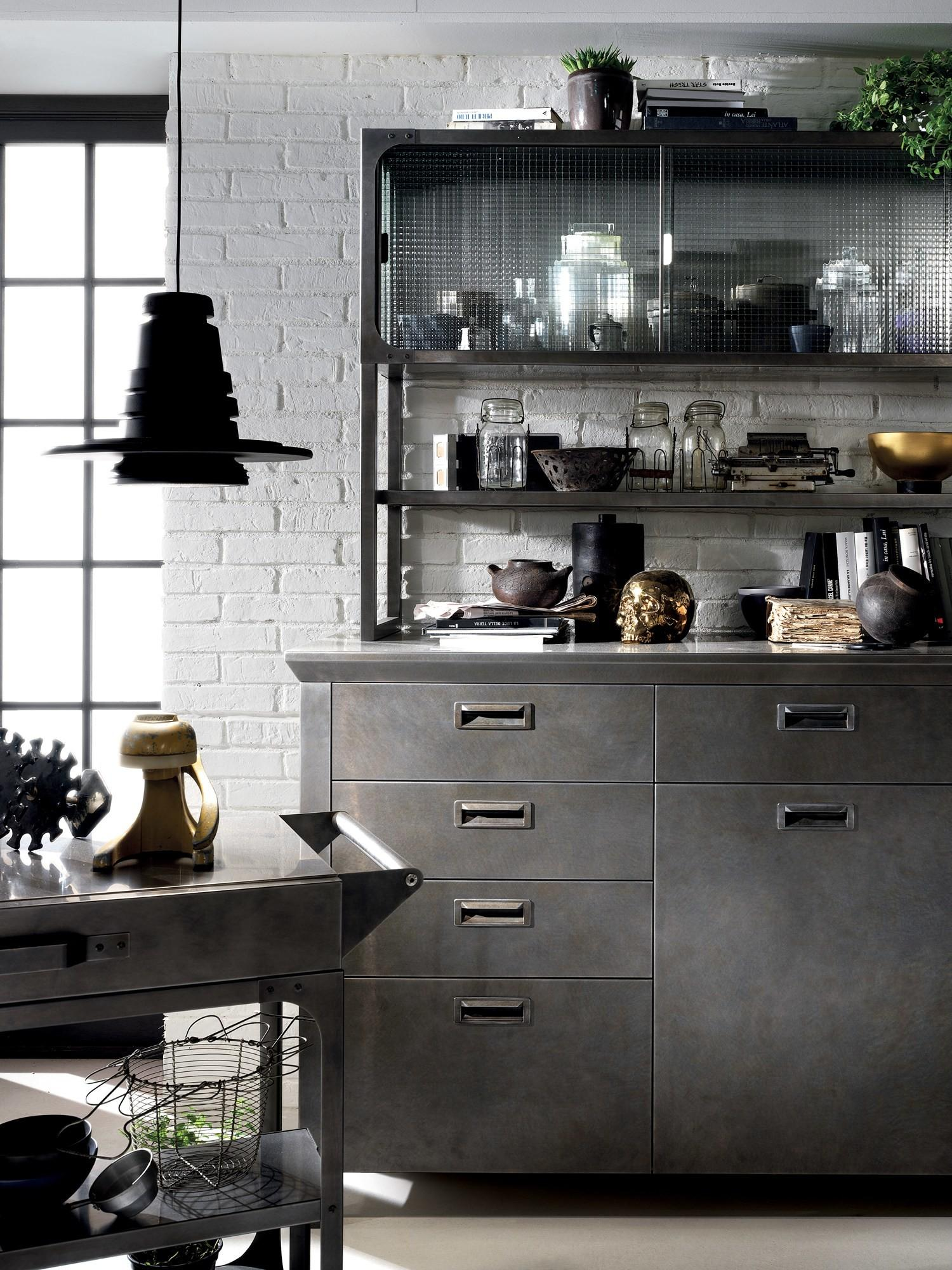 Fitted Kitchen Diesel Social Scavolini Line