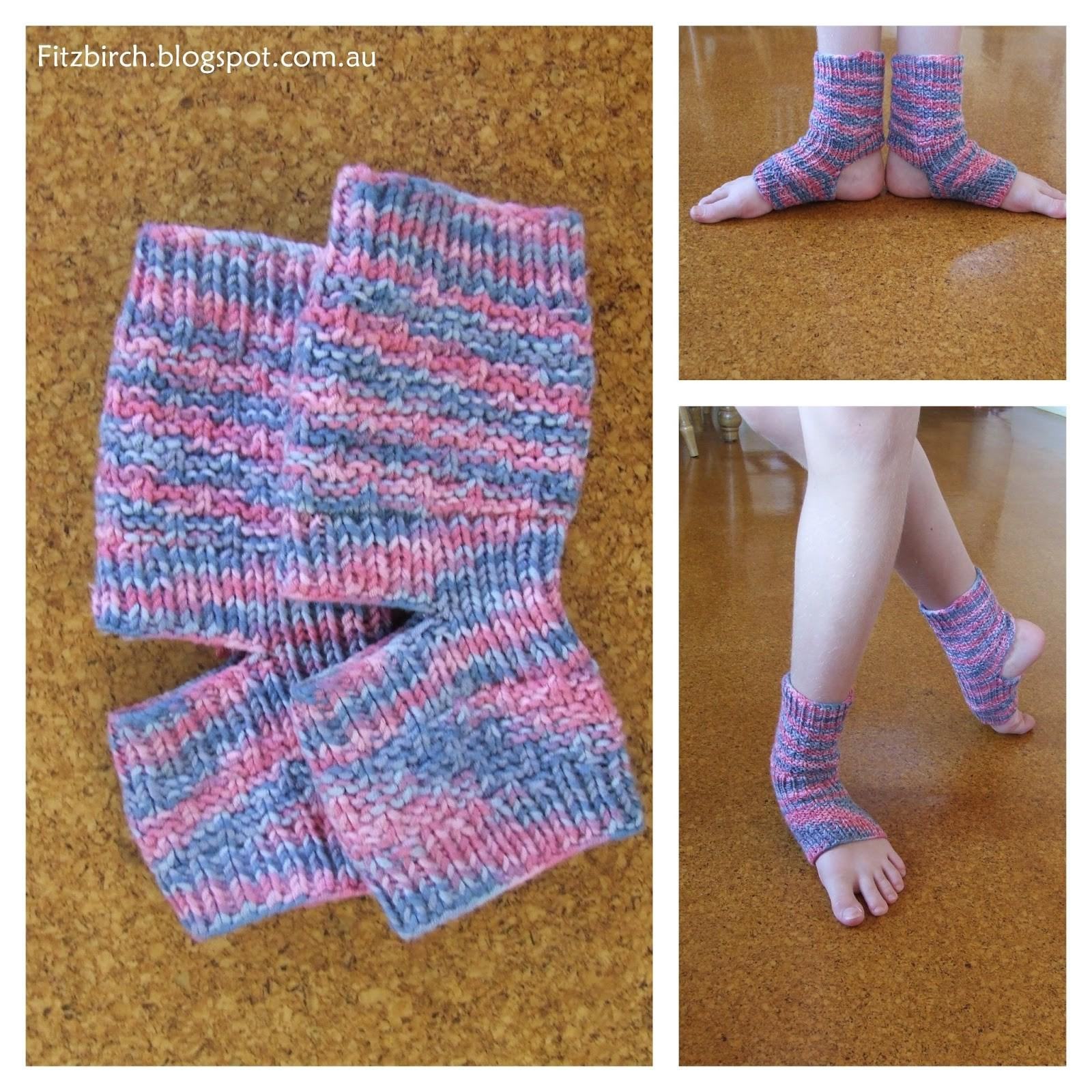 Fitzbirch Crafts Yoga Socks Ballerina