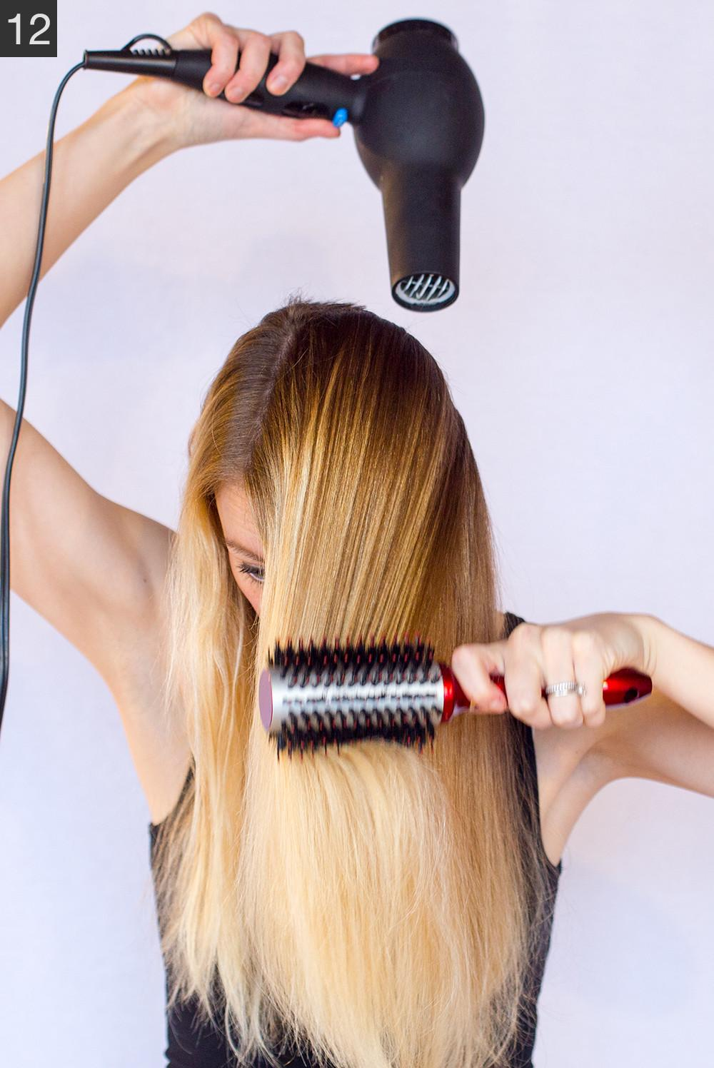 Five Minute Blow Out Tutorial Dry Easily