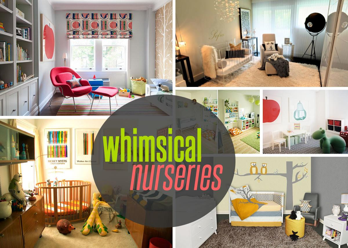 Five Nursery Themes Whimsical Style Country Homes