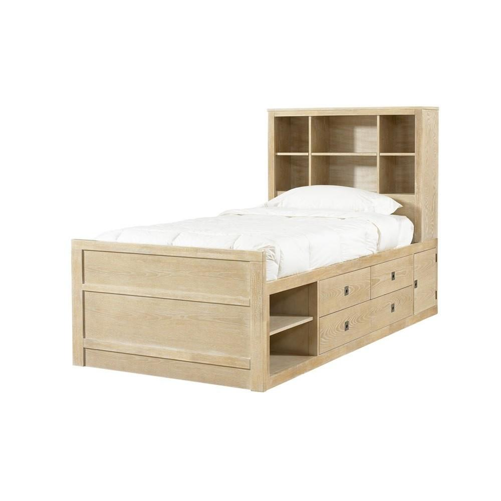 Flagrant Trundle Twin Bed Storage
