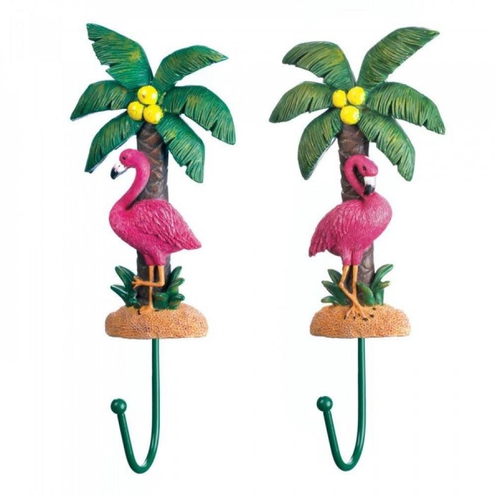 Flamingo Wall Hook Set Upc