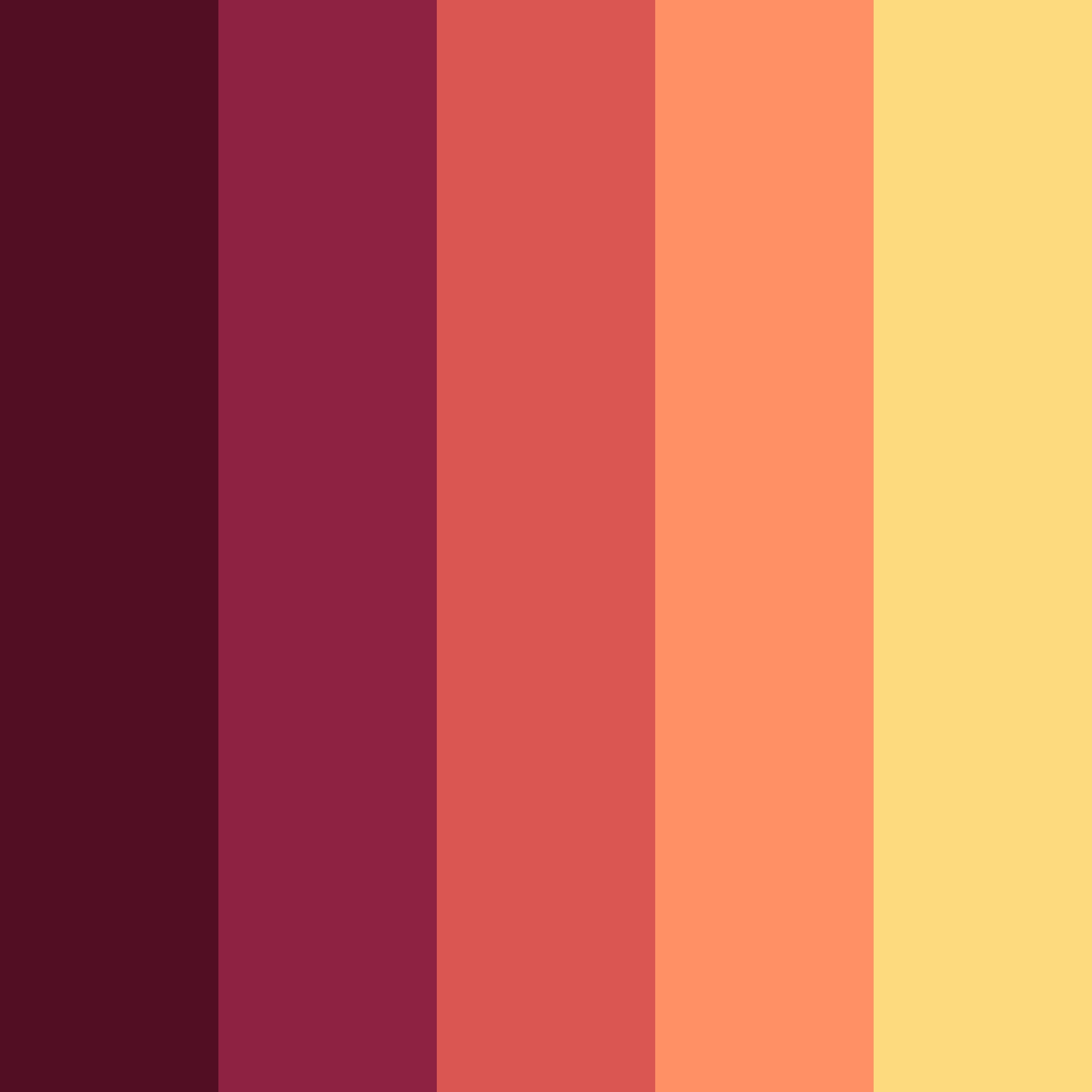 Flat Color Swatches Aco Autumn Edition Web3canvas