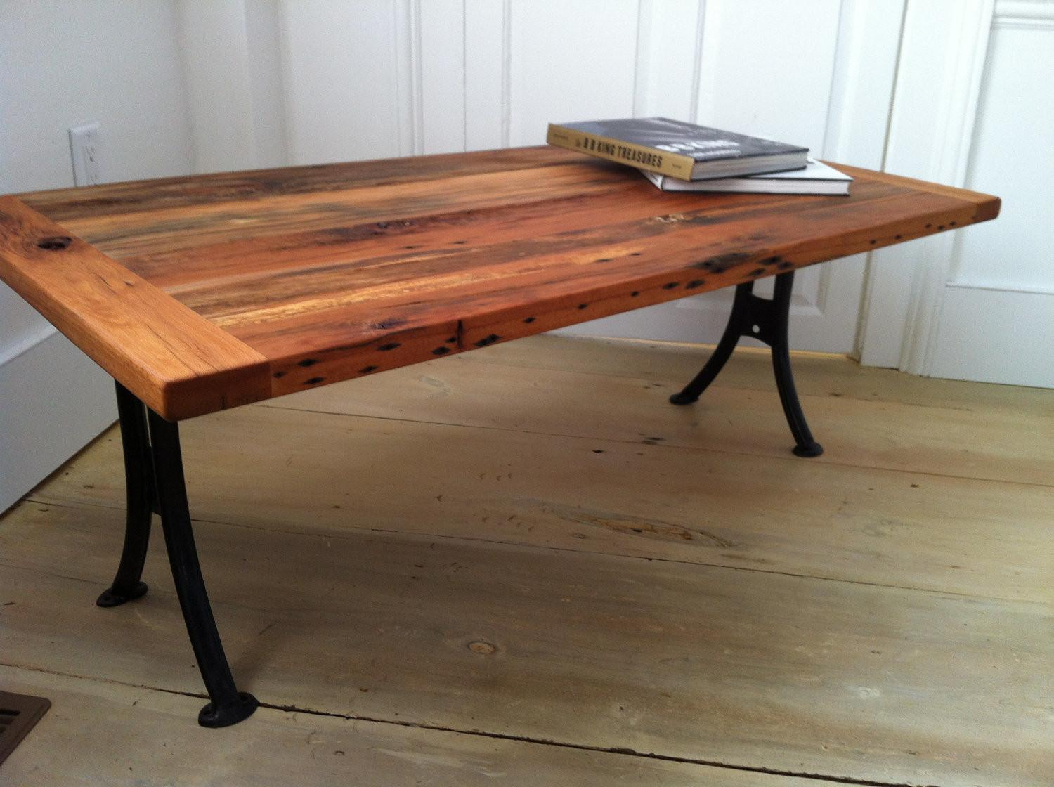 Flat Top Barn Wood Coffee Tables One More Legs Used