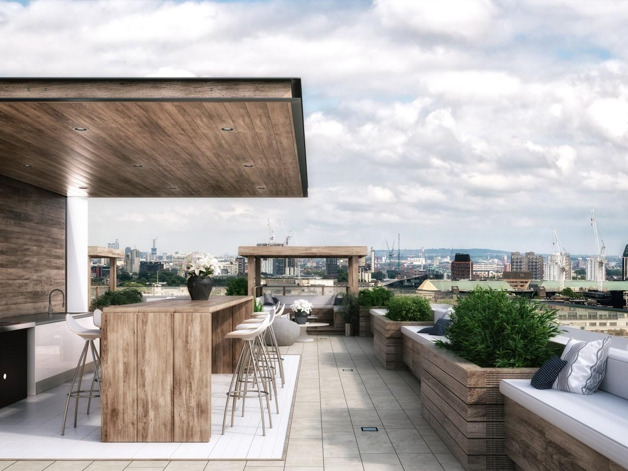 Flats Roof Gardens London Inspired Homes