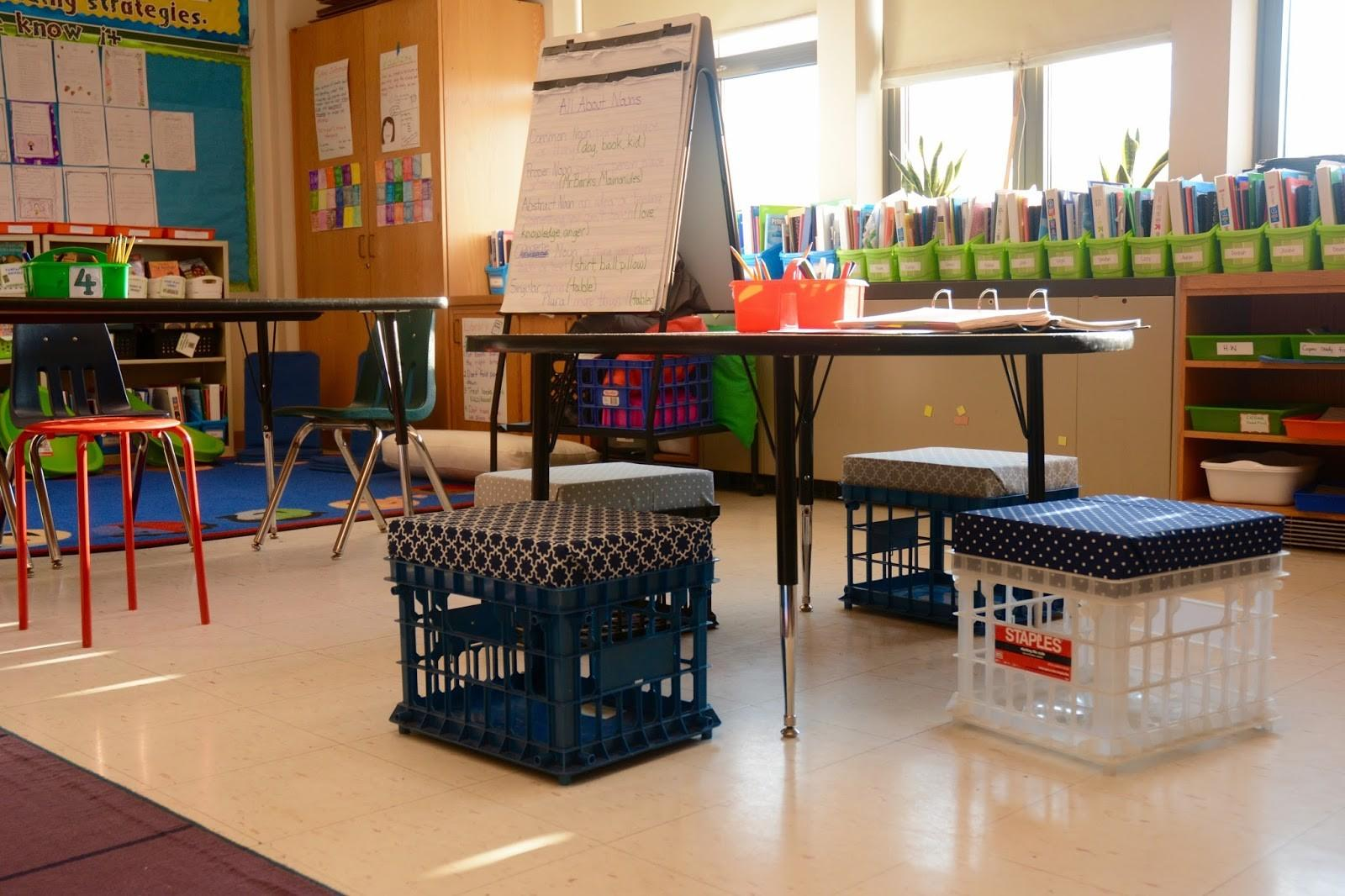 Flexible Seating Brea Country Hills Elementary School