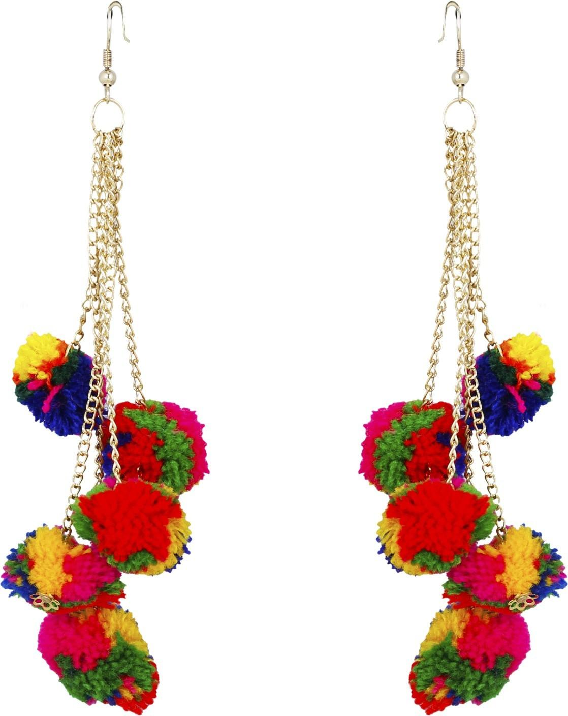 Flipkart Buy Freshvibes Pom Earrings Women