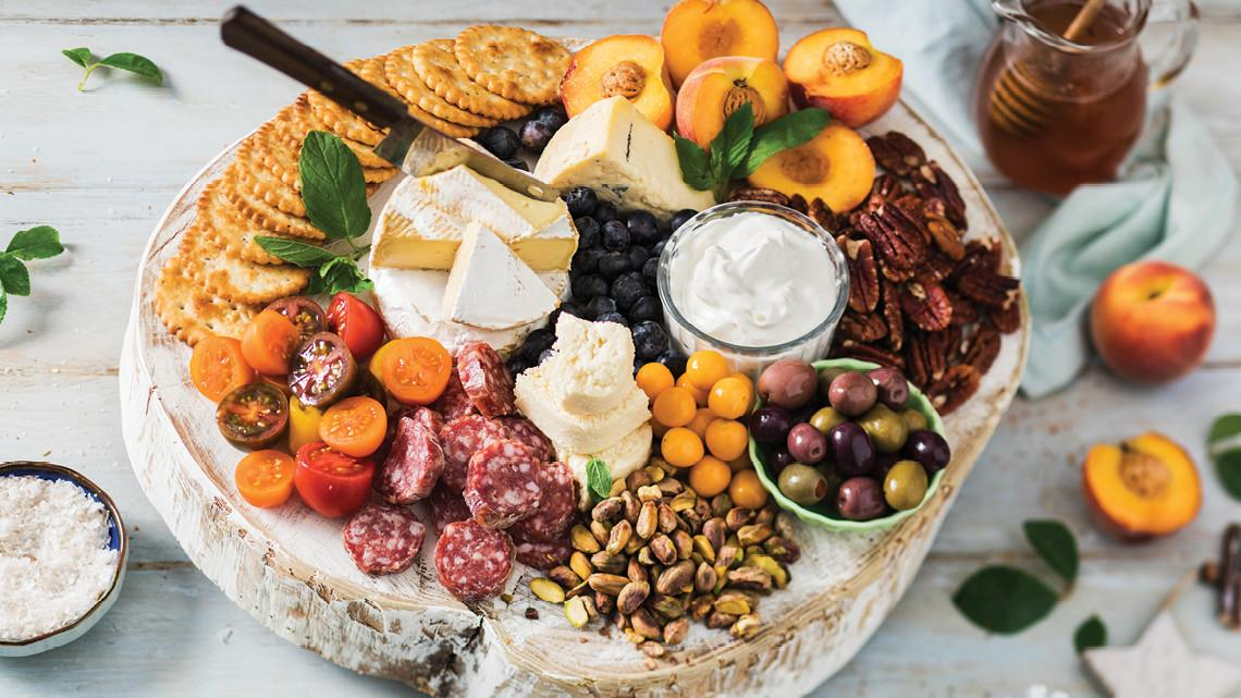 Flm Recipes Festive Summer Cheese Board