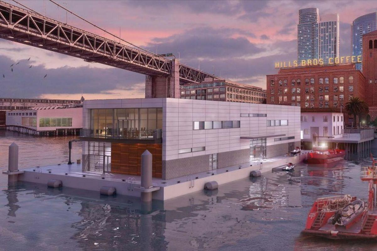 Floating Fire Station Considered San Francisco Pier