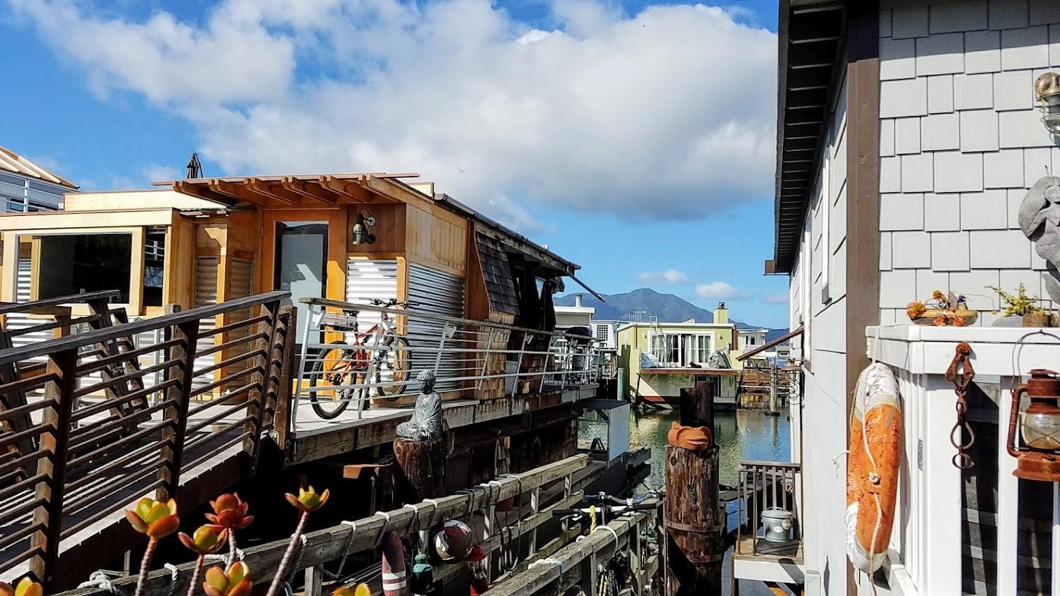 Floating Homes Sausalito Pechluck Food Adventures