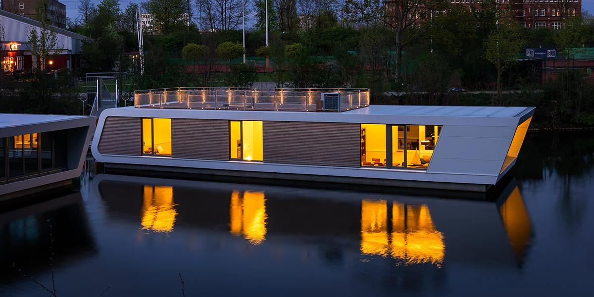 Floating House Architecture Wow Designs Water