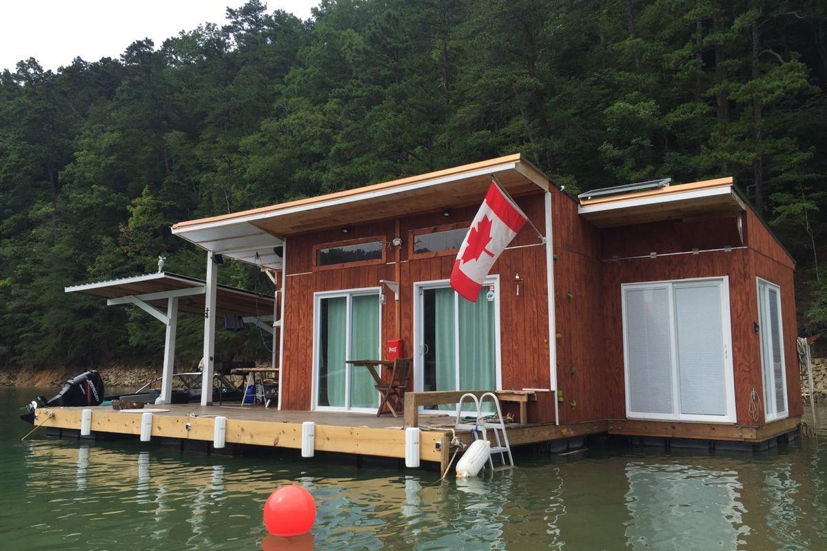 Floating House Fontana Lake Atlanta Expats Dream