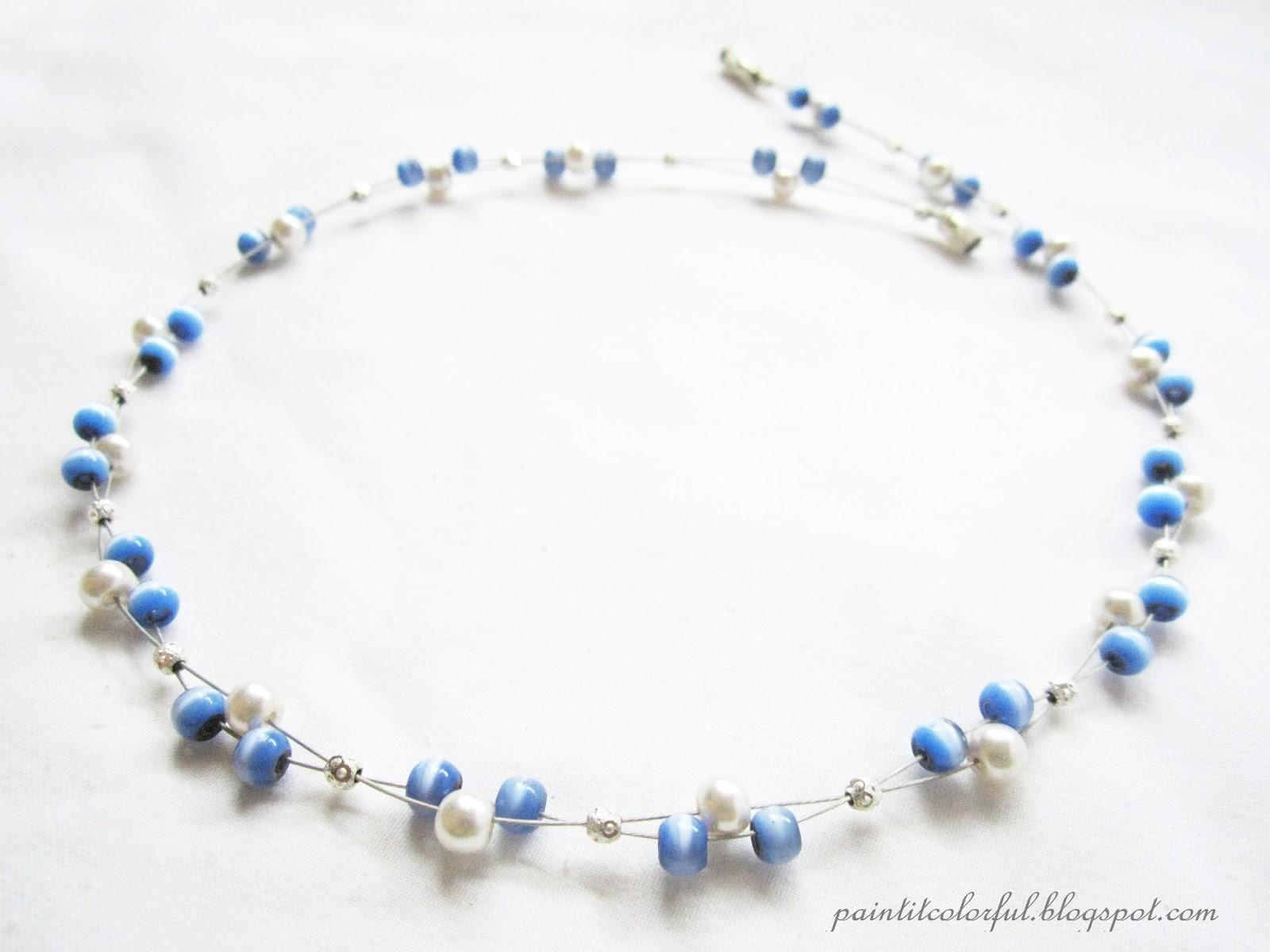 Floating Necklace Tutorial Little Love Everyday