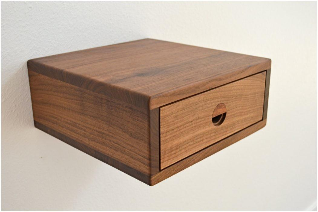 Floating Nightstand Pacco Drawers