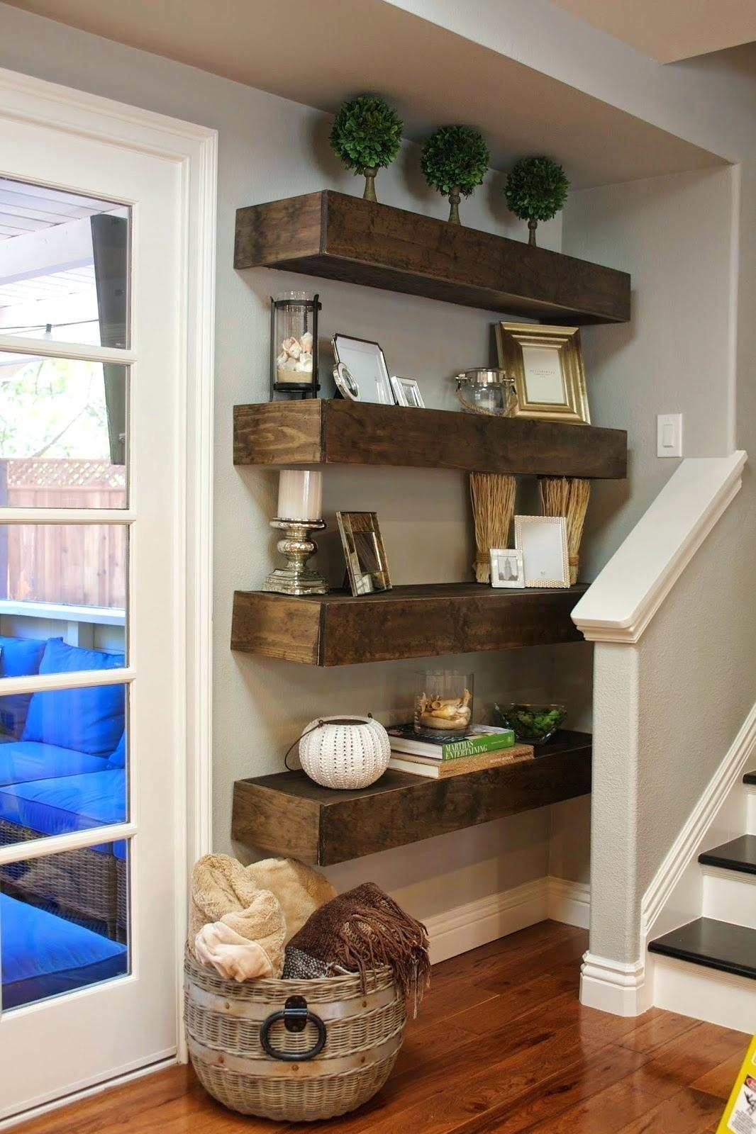 Floating Shelves Diy 100 Tiered Bookshelves